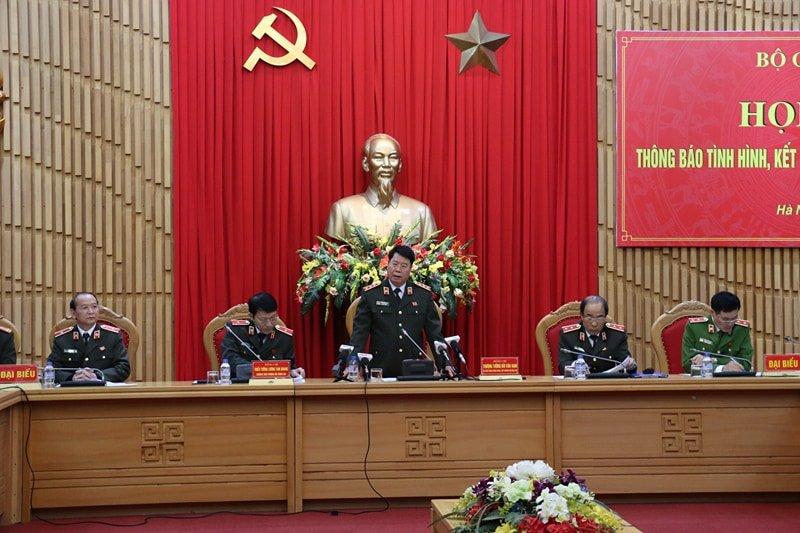 Bo Cong an: 8 chien si cong an hy sinh nam 2017 hinh anh 1