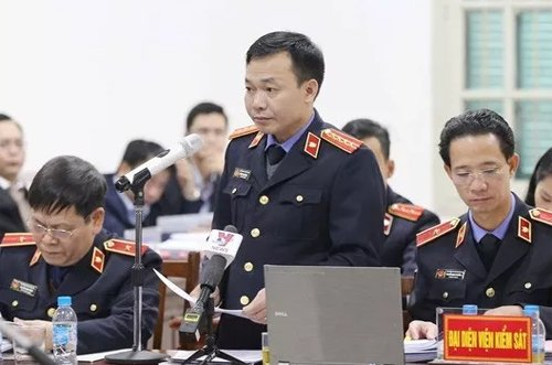 6 thuoc cap cua ong Dinh La Thang duoc de nghi giam an hinh anh 1