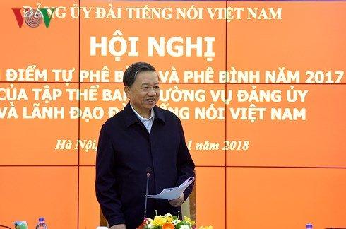 Ong To Lam: VOV da vuot qua thach thuc, hoan thanh tot nhiem vu hinh anh 1