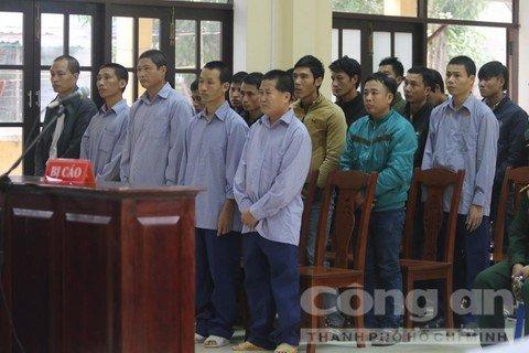 Pha rung pomu chan dong Quang Nam: Xet xu Pho don Bien phong cùng 20 bi cao hinh anh 1