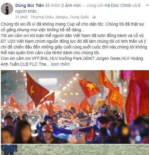 Facebook thu mon Bui Tien Dung vuot moc mot trieu follow hinh anh 3