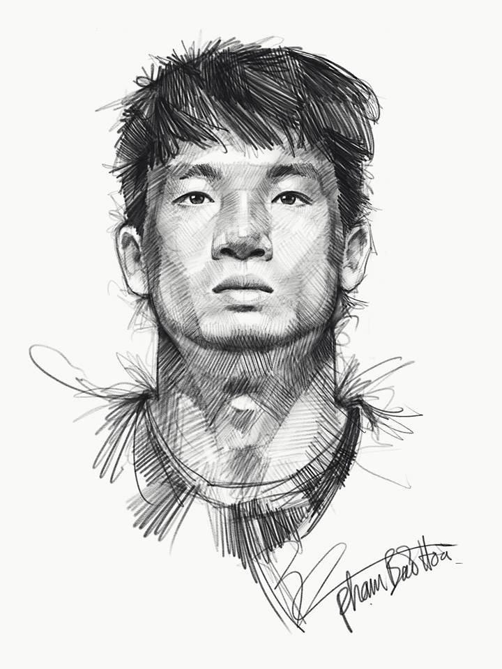 HLV Park Hang-seo va toan doi U23 Viet Nam song dong qua tranh ve hinh anh 5
