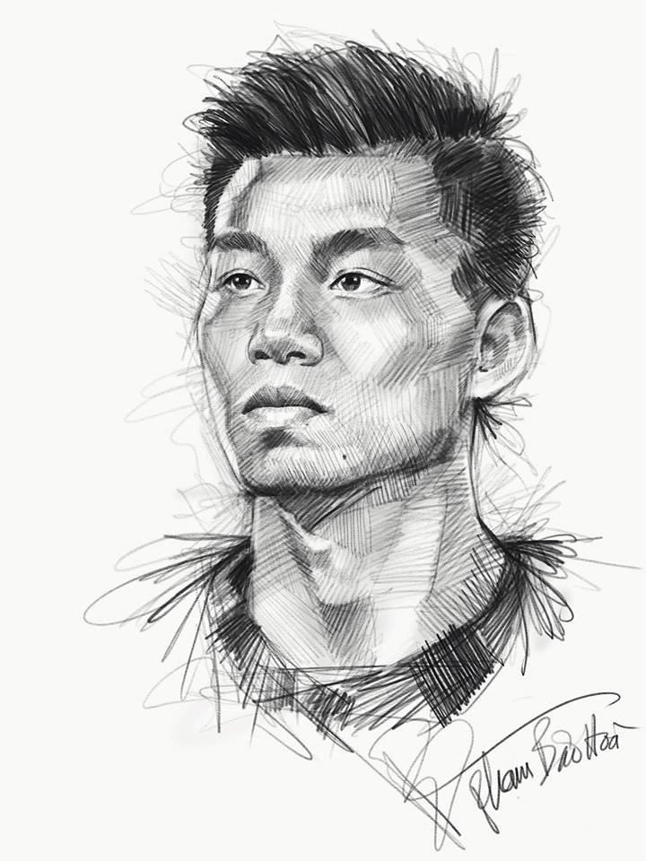 HLV Park Hang-seo va toan doi U23 Viet Nam song dong qua tranh ve hinh anh 10