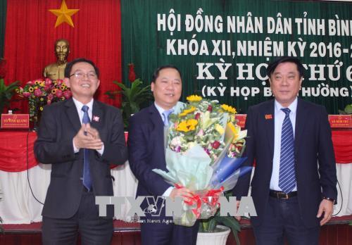 Bi thu Trung uong Doan duoc bau lam Pho Chu tich UBND tinh Binh Dinh hinh anh 1