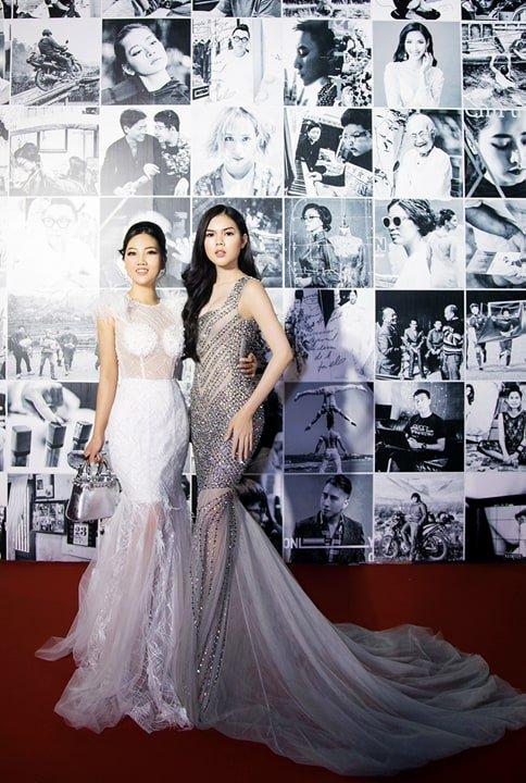 Hoa hau Tuyet Nhung goi cam tren tham do WeChoice Awards 2017 hinh anh 6