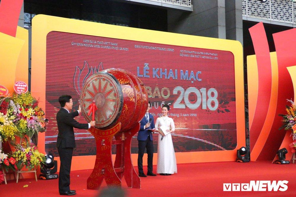 Khai mac Hoi bao toan quoc 2018 hinh anh 1