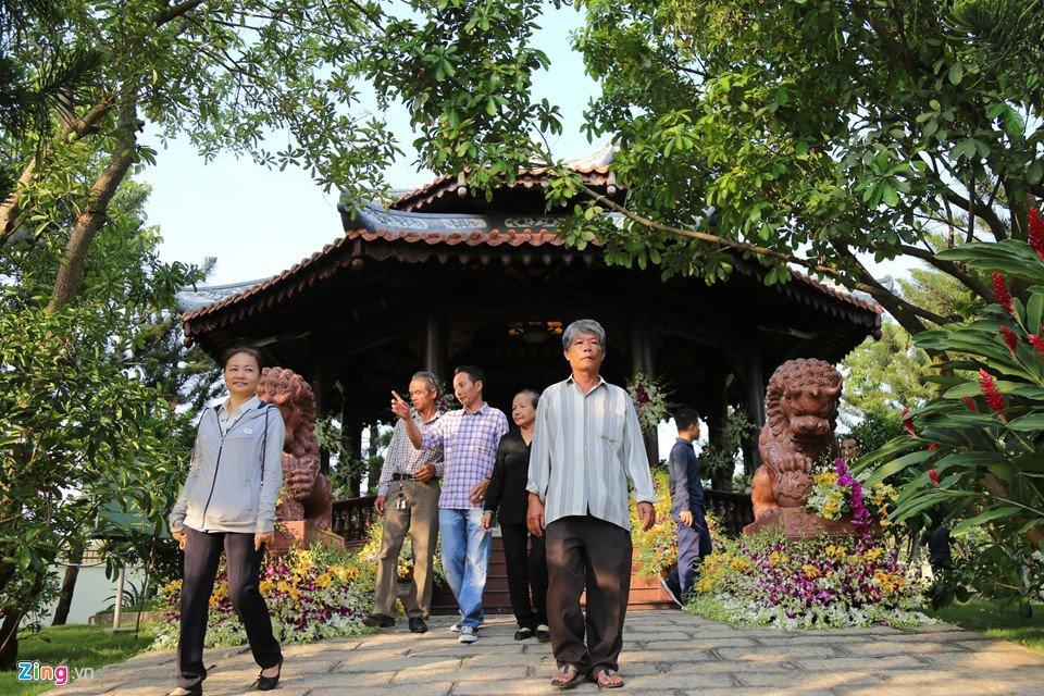 Noi an nghi giua vuon cay cua nguyen Thu tuong Phan Van Khai hinh anh 5