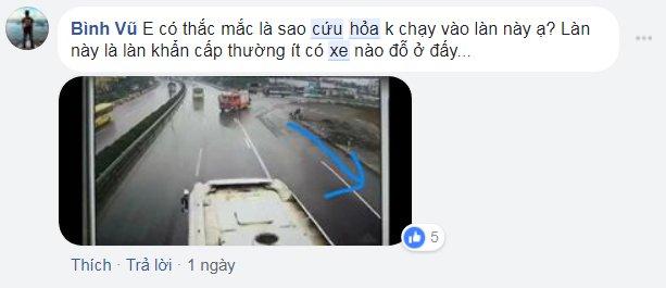 Xe khach tong xe cuu hoa tren cao toc: Khong the vin co uu tien gay nguy hiem tinh mang bao nguoi hinh anh 5