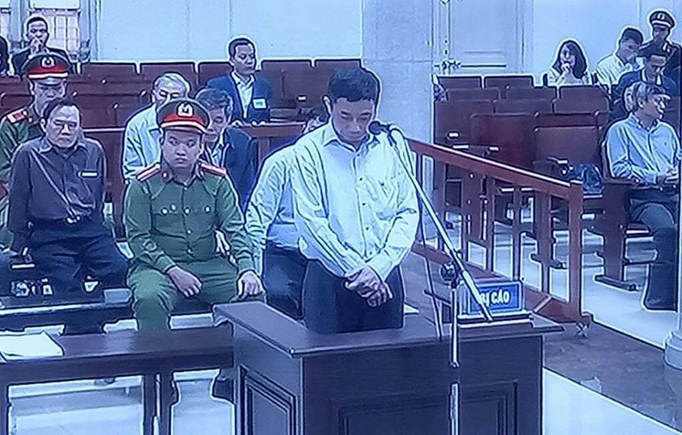 Dong pham cua ong Dinh La Thang thay doi loi khai, Ha Van Tham tu choi doi chat hinh anh 1