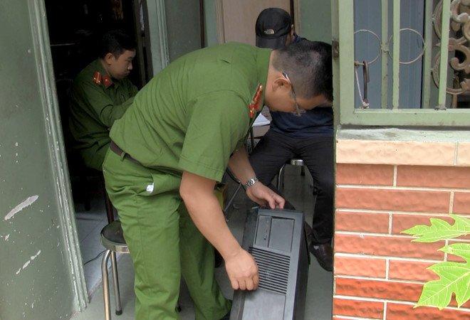 Bo Cong an pha duong day danh bac truc tuyen lon o Sai Gon hinh anh 2