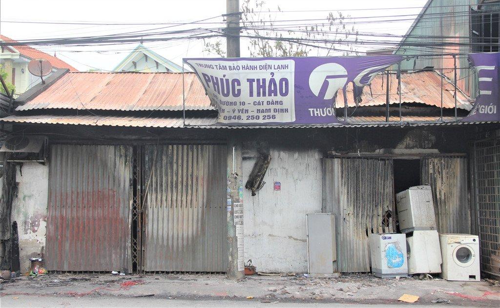Hien truong can nha chay rui, 3 me con chet thuong tam o Nam Dinh hinh anh 8