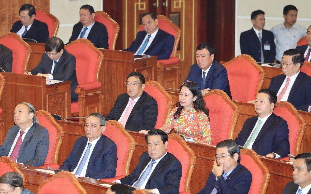 Anh: Toan canh khai mac Hoi nghi lan thu 7 Ban Chap hanh Trung uong Dang khoa XII hinh anh 8