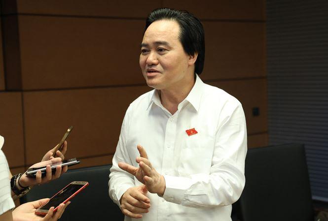 3 nhom van de ve giao duc cac DBQH se chat van: Bo truong Phung Xuan Nha se tra loi the nao? hinh anh 1