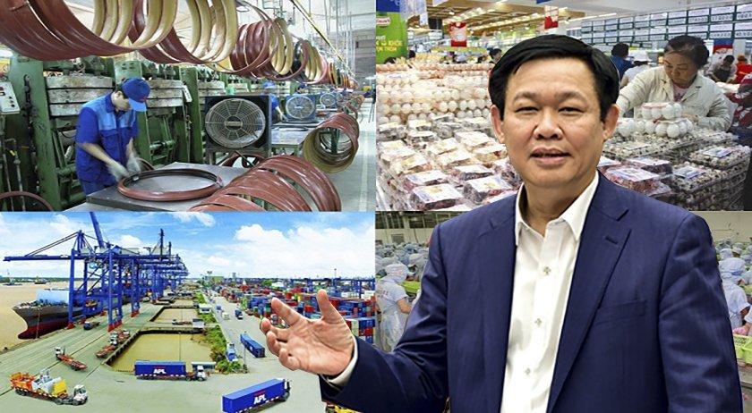 Pho Thu tuong Vuong Dinh Hue: 'Khong the loay hoay 10 thi truong xuat khau cu' hinh anh 1