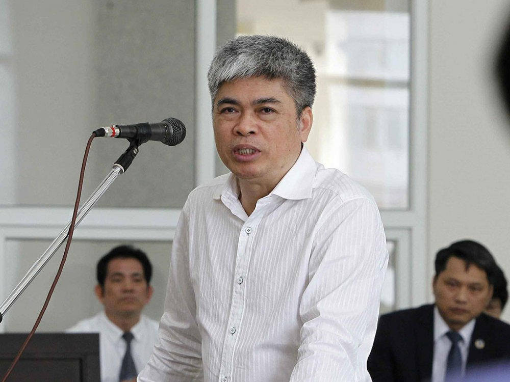 Xet xu phuc tham ong Dinh La Thang: Loi khai mau thuan cua cac bi cao hinh anh 2