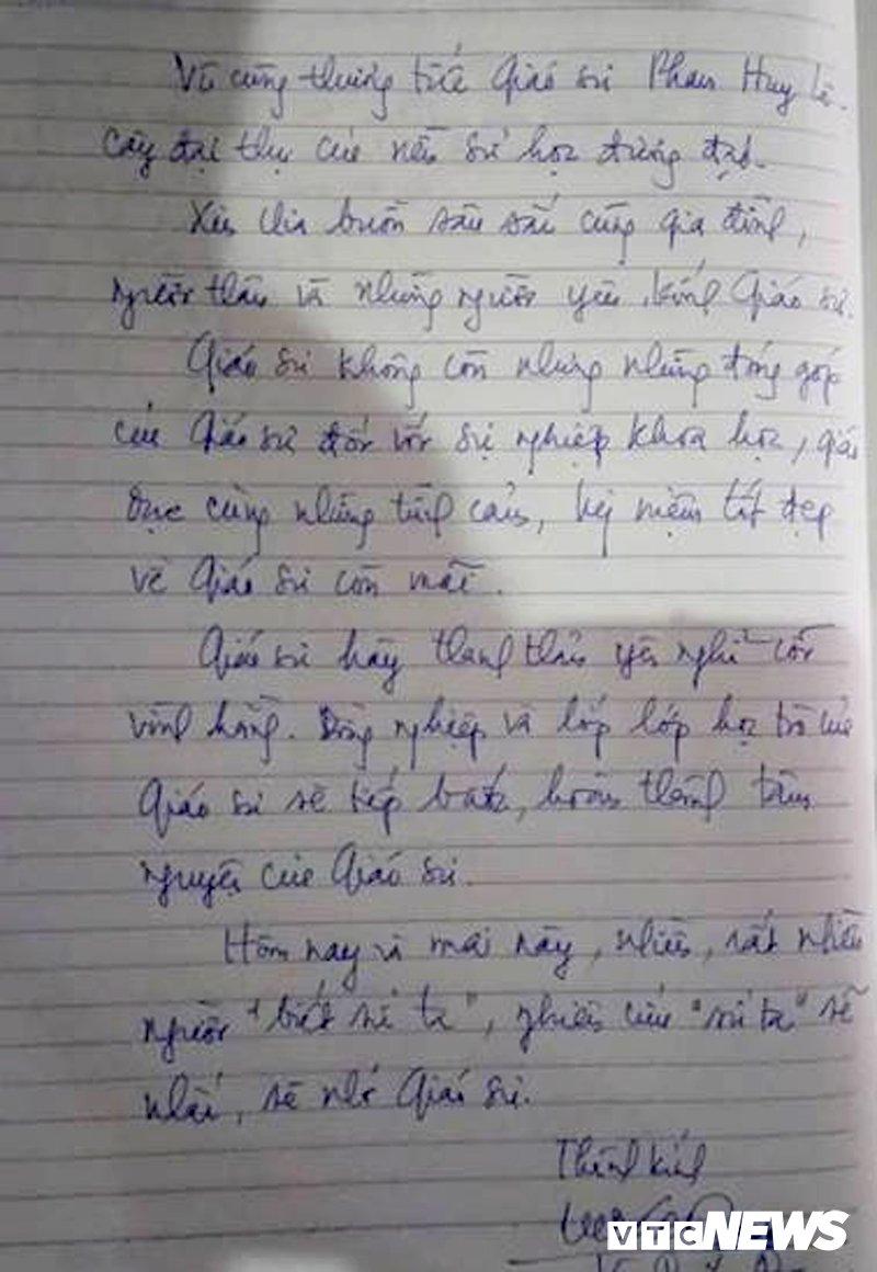 Anh: Lanh dao, nguyen lanh dao Dang, Nha nuoc xuc dong tien biet GS Phan Huy Le hinh anh 11