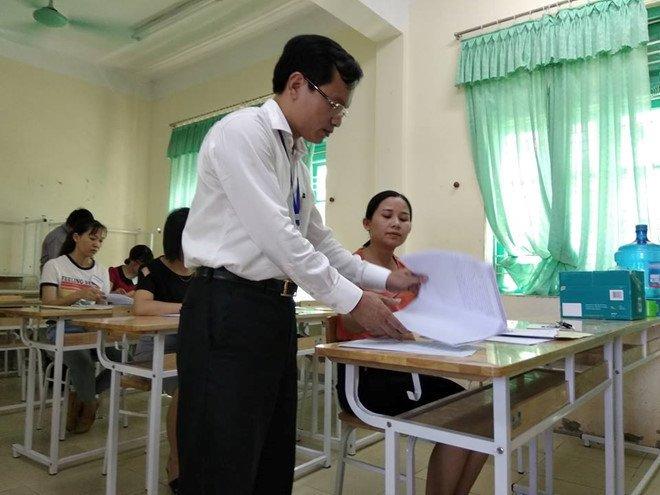 Bi nghi van diem thi cao bat thuong, Hoa Binh bao cao Bo GD-DT hinh anh 1