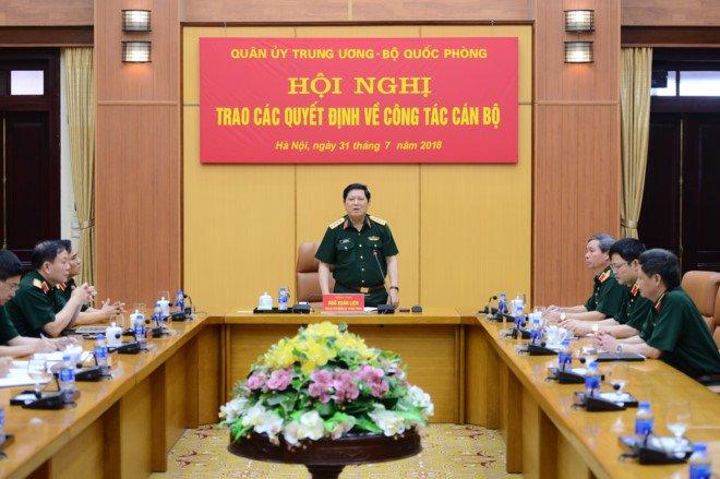 Thieu tuong Le Dang Dung duoc giao phu trach Chu tich kiem Tong Giam doc Viettel hinh anh 1