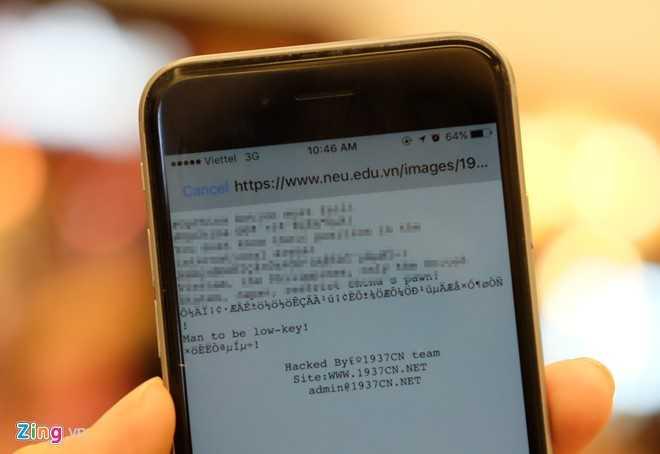 Hacker tan cong Vietnam Airlines xam nhap website Dai hoc Kinh te Quoc dan hinh anh 1