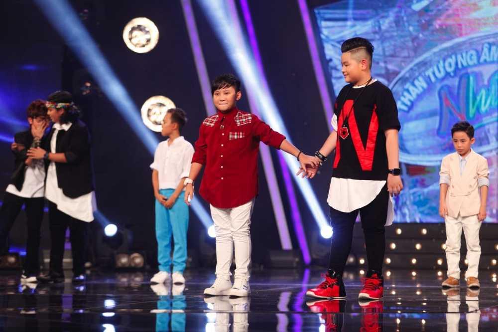 Vietnam Idol Kids: Than dong dan ca Ho Van Cuong khien Isaac 'rung tim' hinh anh 15