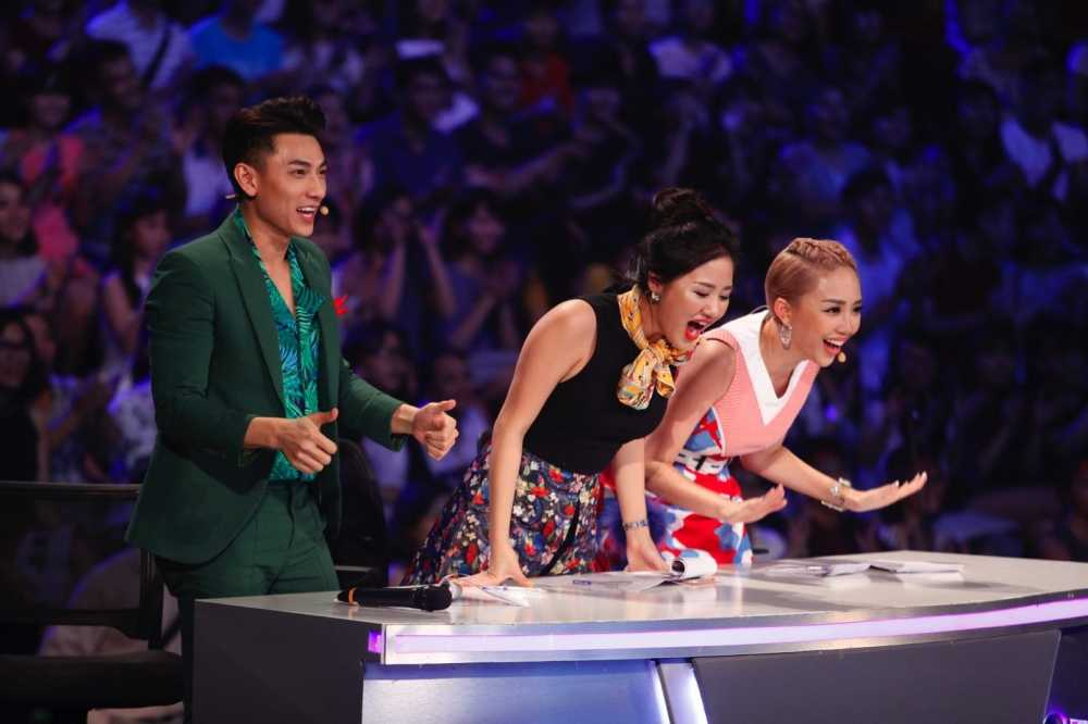 Truc tiep liveshow top 10 Vietnam Idol Kids: 10 'thien than nho' da san sang hinh anh 11