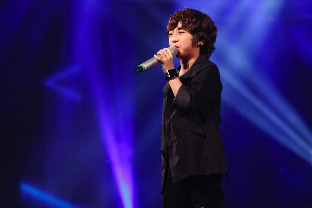 Truc tiep liveshow top 10 Vietnam Idol Kids: 10 'thien than nho' da san sang hinh anh 5