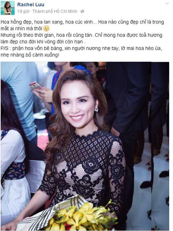 Diem Huong len tieng truoc nghi van hon nhan ran nut hinh anh 3