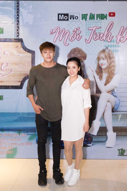 Lam Vinh Hai tron vo di xem phim cung Suni Ha Linh hinh anh 6