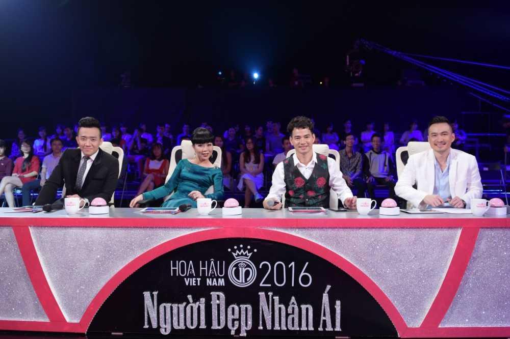 Tran Thanh 'bo roi' Hari Won, chay theo dan thi sinh Hoa hau hinh anh 4
