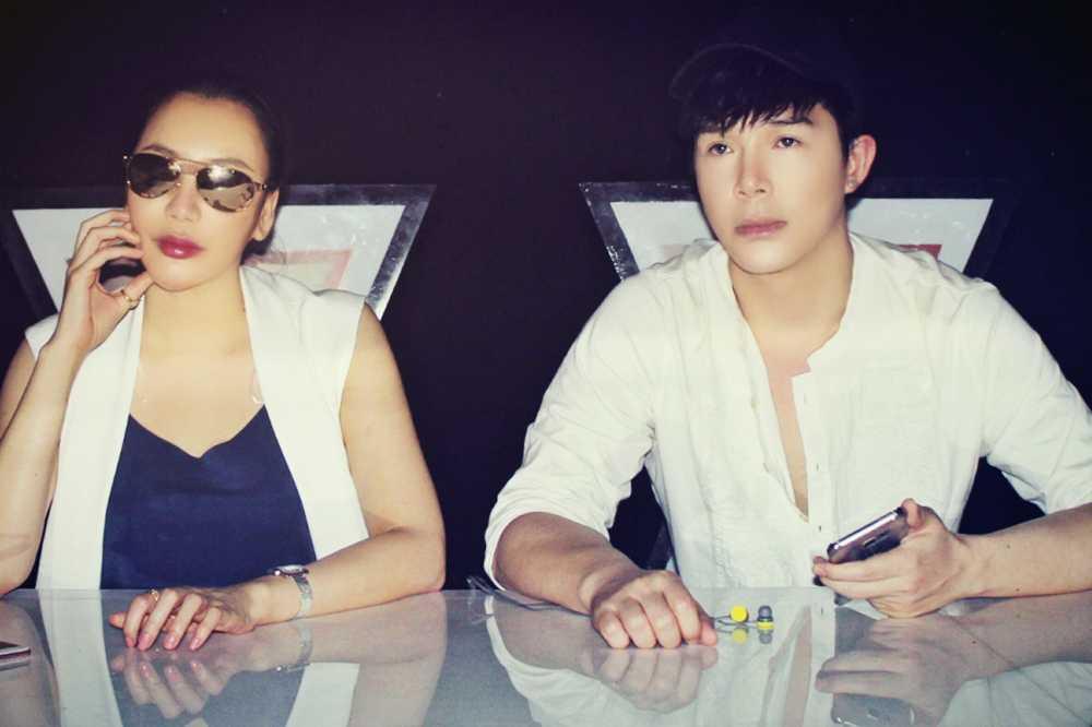 Ho Quynh Huong xinh dep day loi cuon ben Nathan Lee hinh anh 1