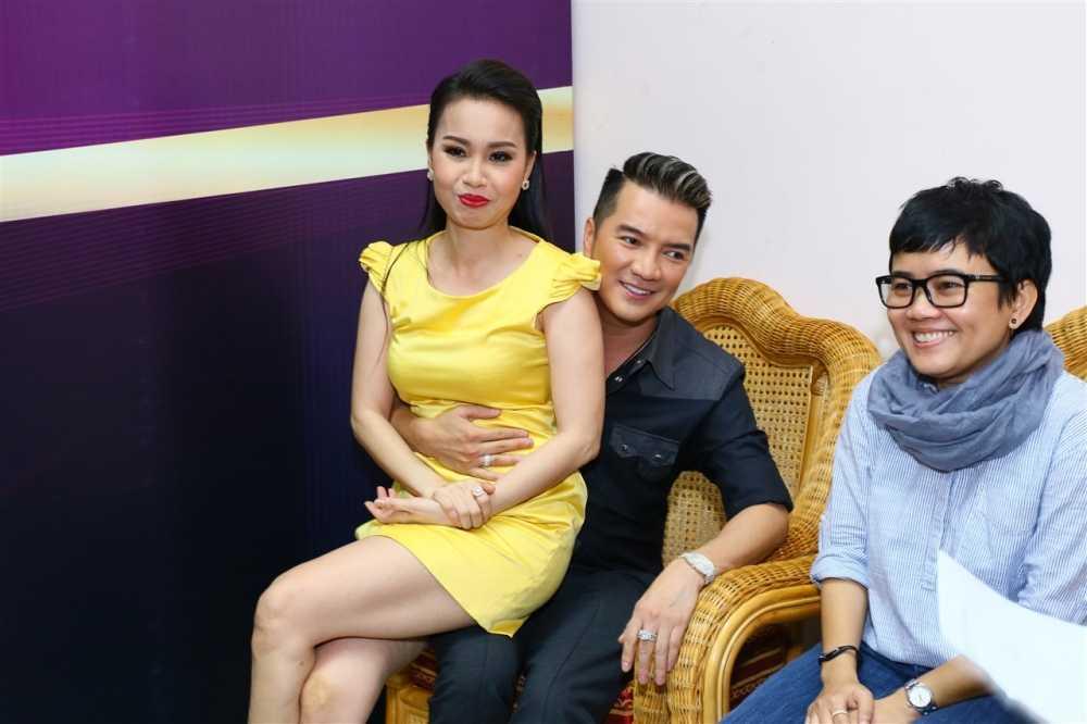 Noo Phuoc Thinh ngoi ghe huan luyen vien cung Dam Vinh Hung hinh anh 13