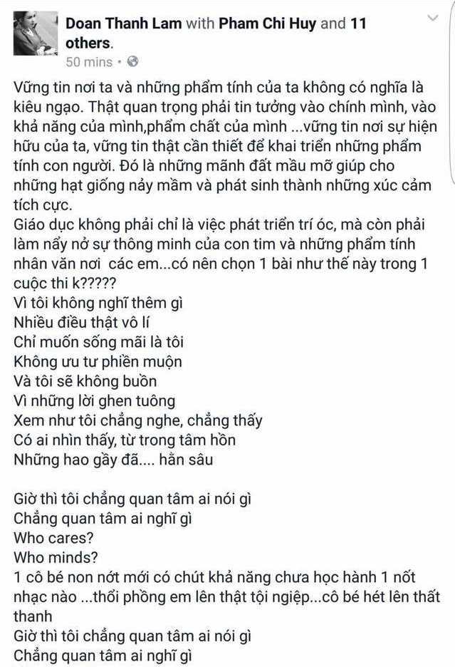 Thanh Lam 'da xeo' Ho Quynh Huong dong kich, 'moi thu deu gia' hinh anh 2