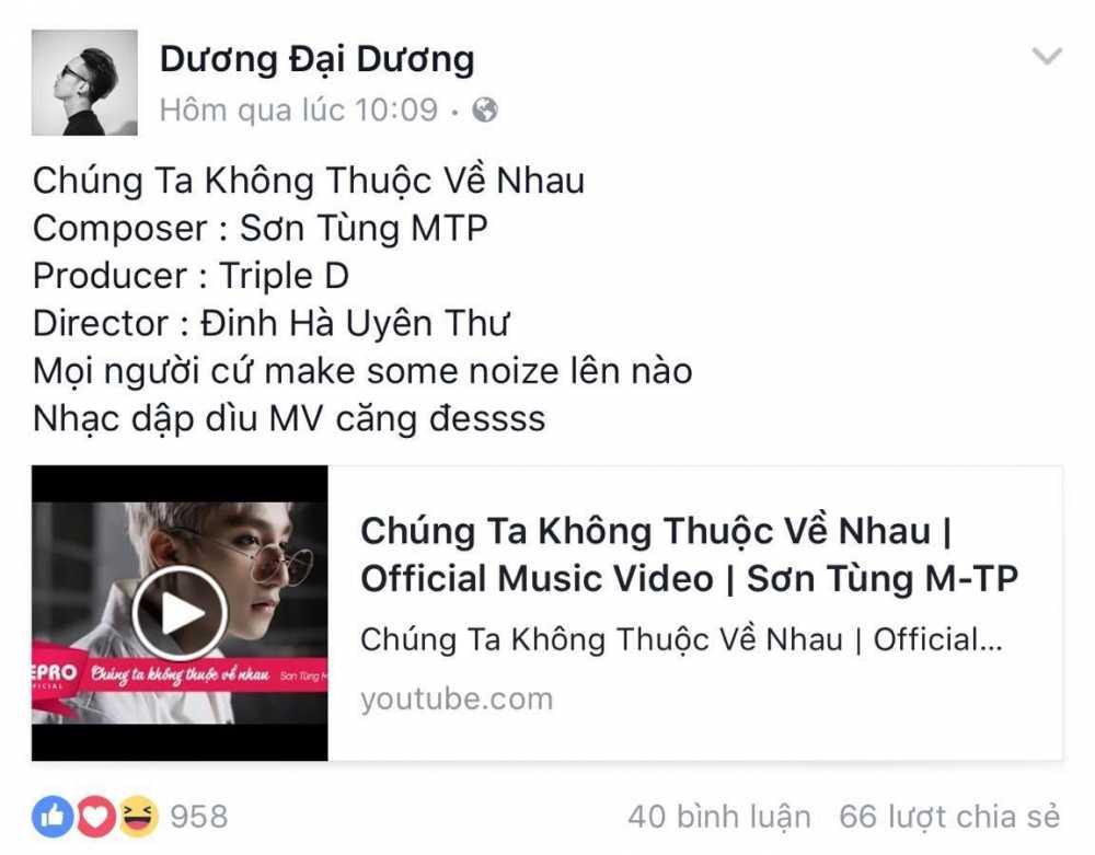 Chu nhan 'We don't talk anymore – Remix' len tieng to Son Tung dao nhac hinh anh 3