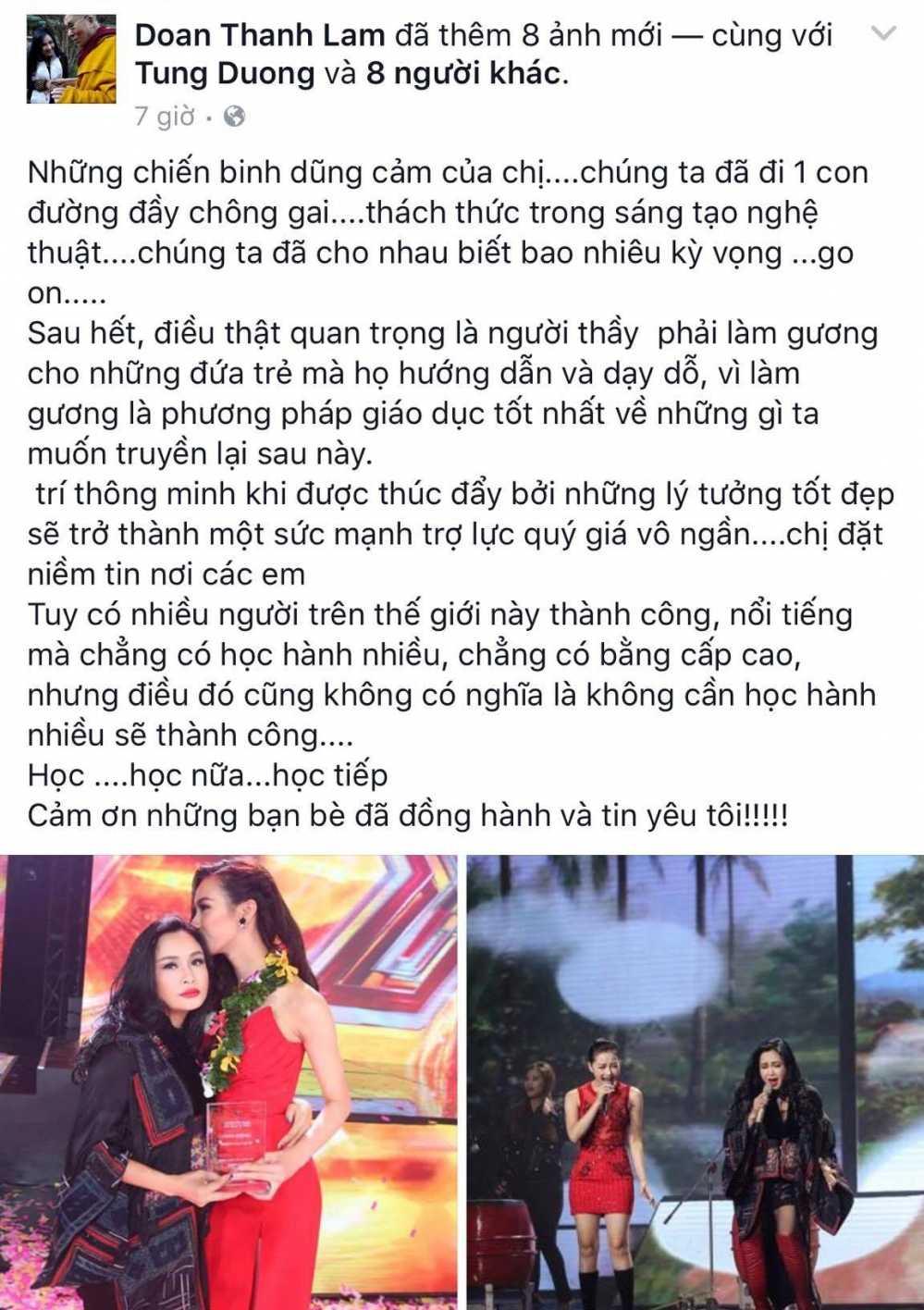 Khong phuc chien thang cua doi Huong Ho, Thanh Lam dang dan 'da xeo' hinh anh 2