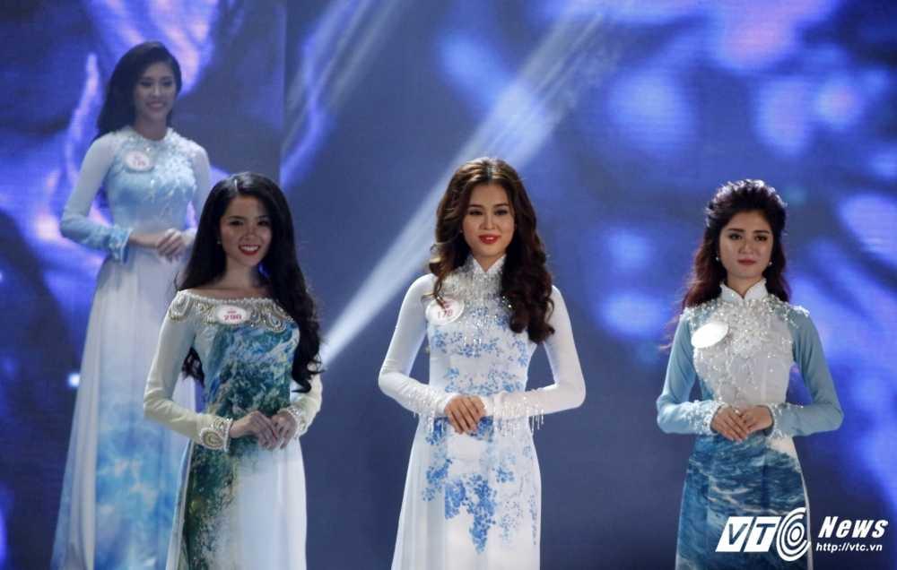 30 nhan sac Hoa hau Viet Nam toa sang trong ao dai 'Ngoc Vien Dong' hinh anh 12