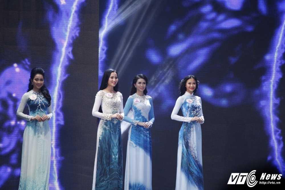 30 nhan sac Hoa hau Viet Nam toa sang trong ao dai 'Ngoc Vien Dong' hinh anh 9