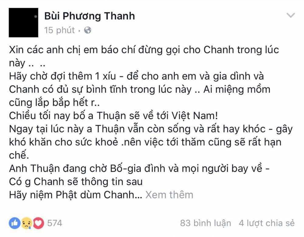 Ca sy Minh Thuan dang nguy kich hinh anh 2