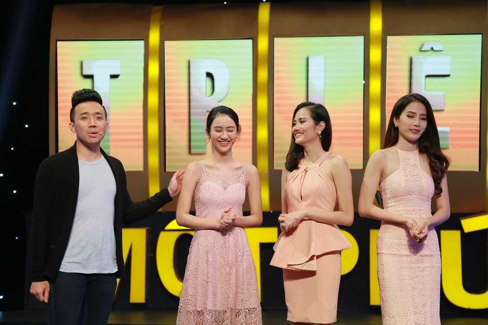 Tran Thanh 'can loi' vi bi 3 nang Hoa hau chat chem hinh anh 4