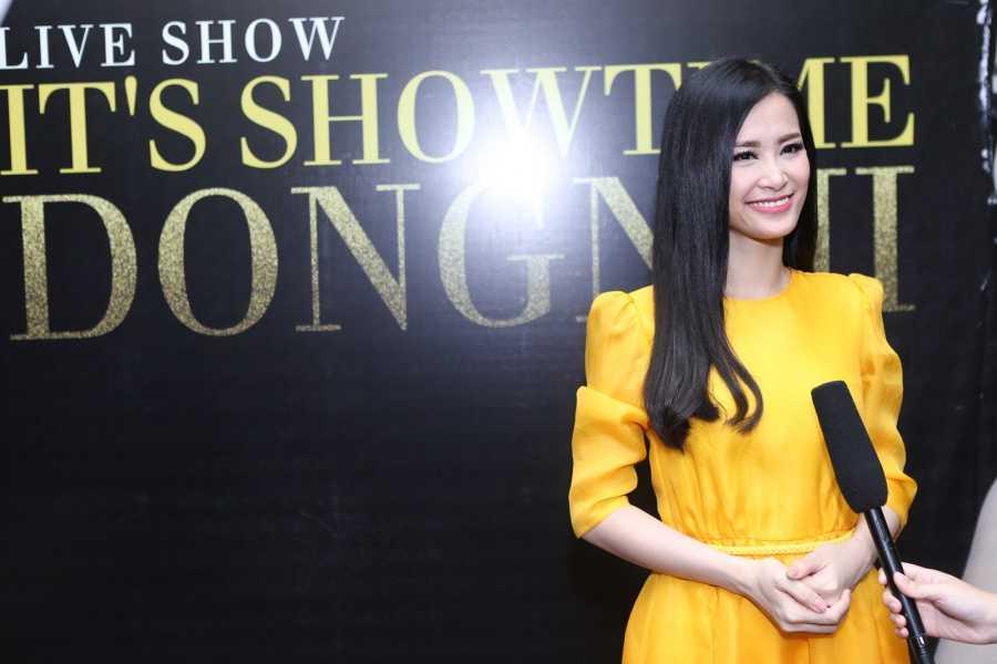 Dong Nhi lam liveshow dau tien sau 8 nam ca hat tai san van dong hinh anh 7
