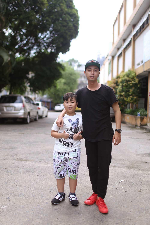 'Hotboy banh gio' Dinh Hieu lan dau thu suc 'Guong mat than quen nhi' hinh anh 6