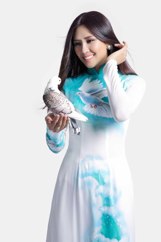 Nguyen Thi Loan mang dieu gi den voi Hoa hau hoa binh quoc te? hinh anh 6