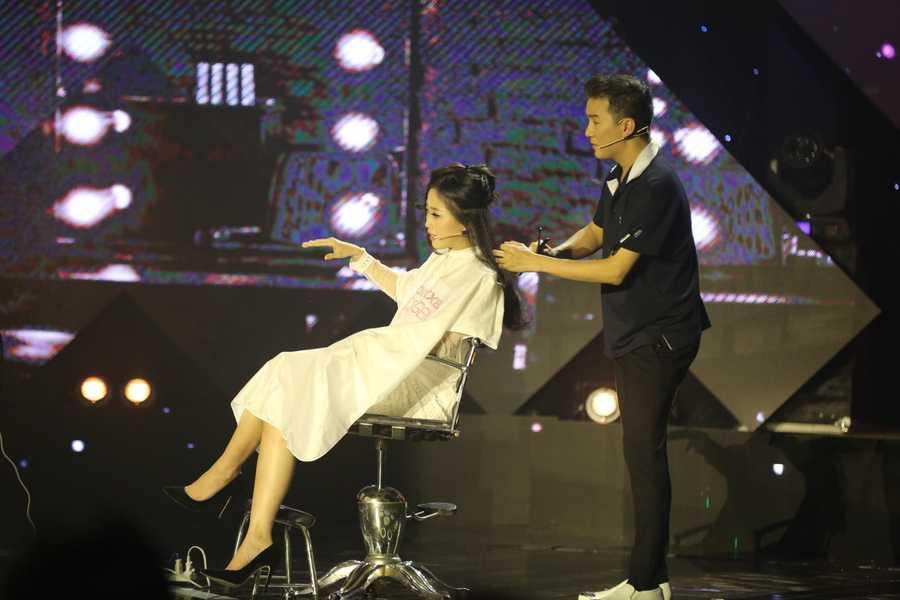 Lieu Ha Trinh, Phung Yen dang quang nguoi dan chuong trinh truyen hinh En Vang 2016 hinh anh 2