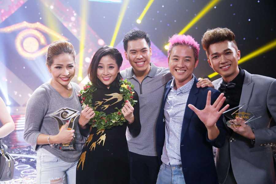 Lieu Ha Trinh, Phung Yen dang quang nguoi dan chuong trinh truyen hinh En Vang 2016 hinh anh 6