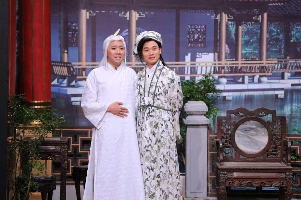 On gioi cau day roi: Truc Nhan 'chat chem' Tran Thanh khien Hoai Linh bat ngo hinh anh 2