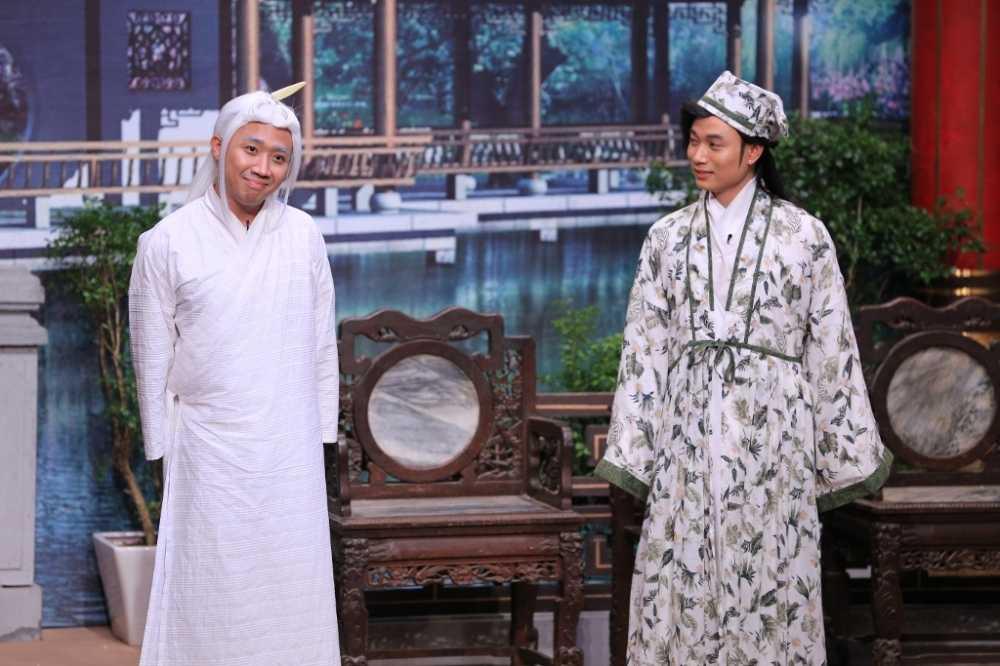 On gioi cau day roi: Truc Nhan 'chat chem' Tran Thanh khien Hoai Linh bat ngo hinh anh 3