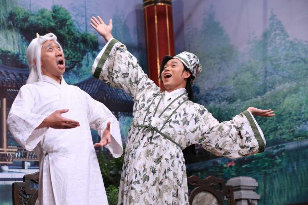 On gioi cau day roi: Truc Nhan 'chat chem' Tran Thanh khien Hoai Linh bat ngo hinh anh 4
