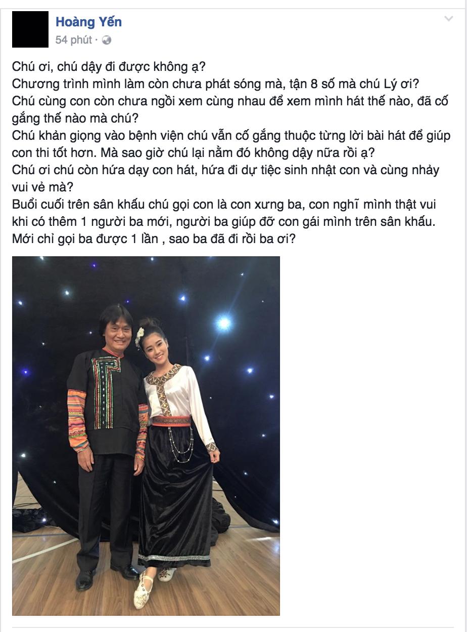 Xuc dong voi tieng goi 'Ba' than thuong cua Hoang yen Chibi danh cho NSUT Quang Ly hinh anh 2