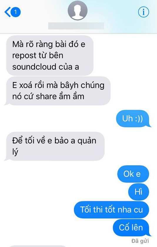 Hoc tro My Linh tung bang chung khang dinh Le Thien Hieu hat 'Ong ba anh' doi tra hinh anh 3