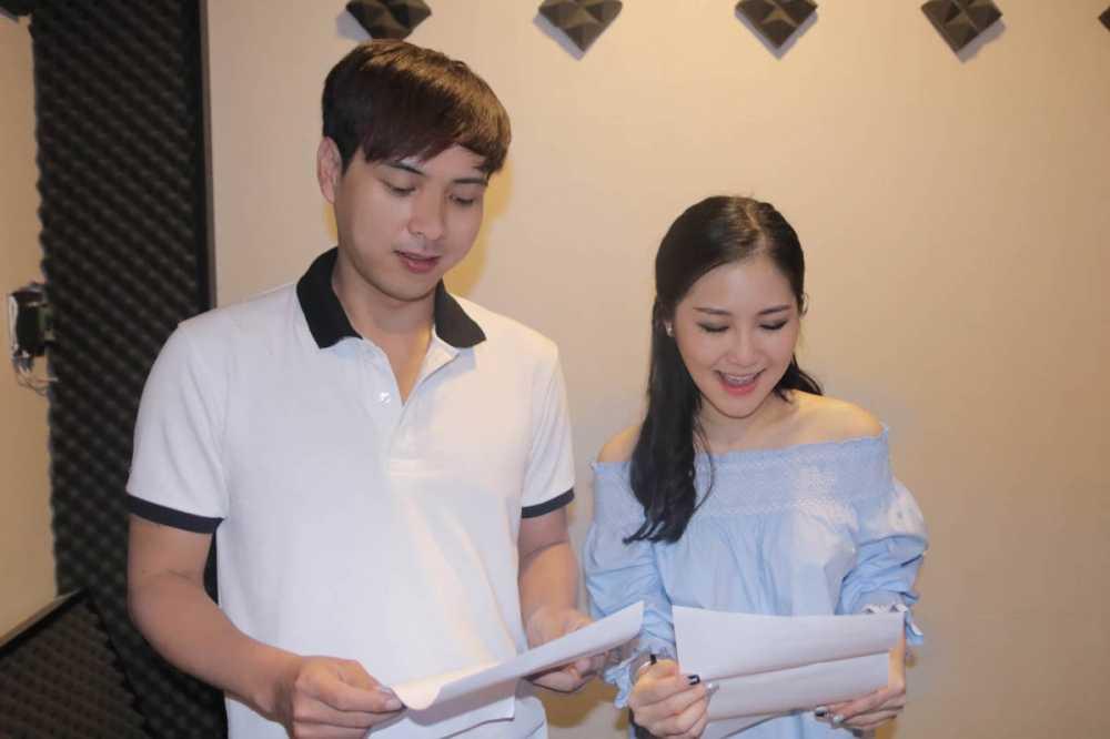 Chi Pu, Quang Vinh, Hoang Thuy Linh lan dau cung nhau 'Chuc Tet moi nha' hinh anh 4