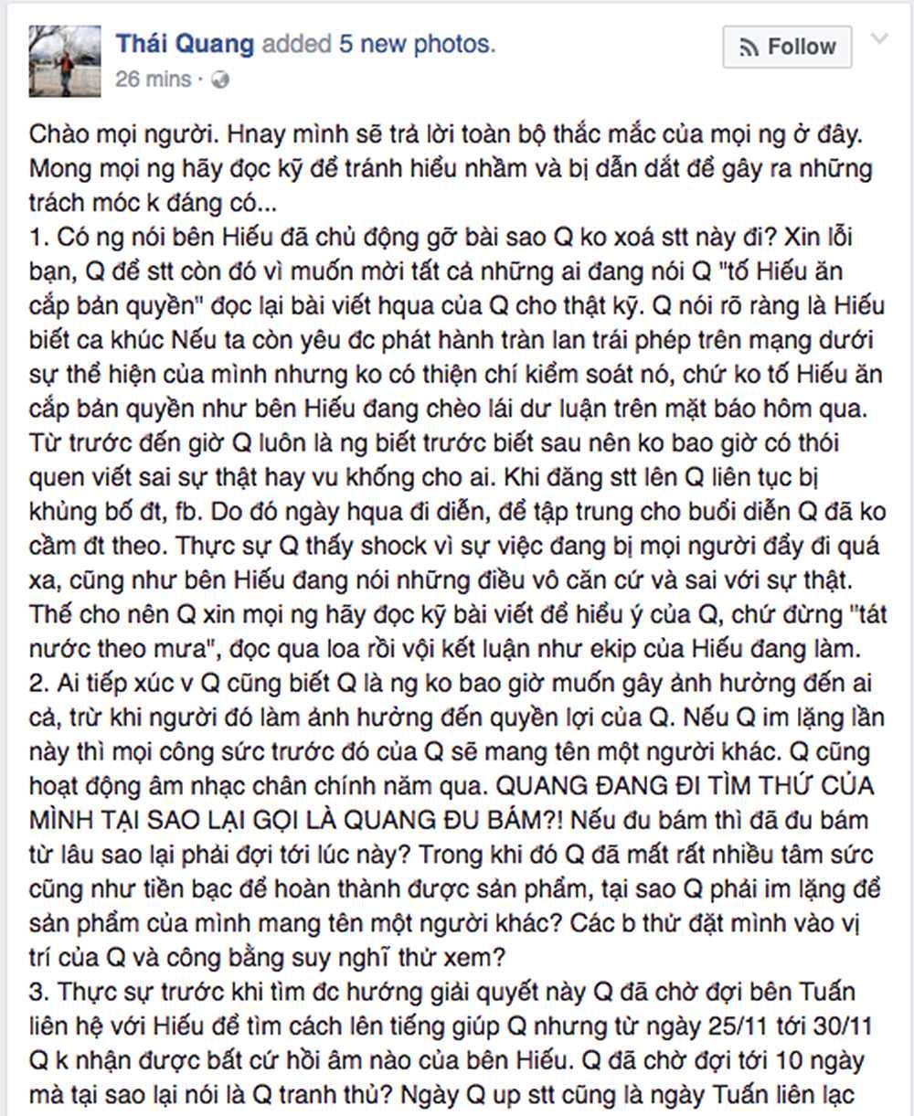 Hoc tro My Linh tung bang chung khang dinh Le Thien Hieu hat 'Ong ba anh' doi tra hinh anh 4